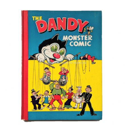 The Dandy Monster Comic 1948 Annual D.C. Thomson 1947
